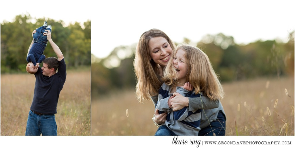 Spring-like flowers and changing fall leaves make for unique photos with family photographer in Northern Virginia (serving all of the DC-metro area!)