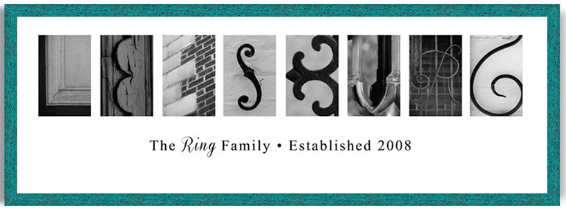 """If you love where you live, personalized """"Leesburg Letter Art"""" is perfect for your home, office, or as a gift for your favorite Leesburg locals."""
