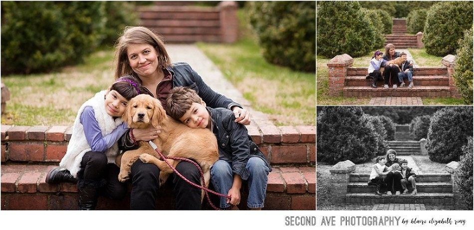 Super fun family AND adorable new puppy, even a gorgeous silhouette at the very end! I was thrilled to be their Fairfax VA family photographer.